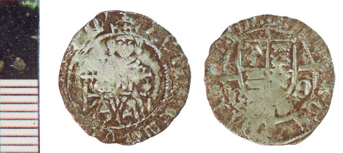 NLM-4CB656: Medieval Coin: Penny of Henry VII