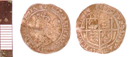 NLM-B65F5F: Post-Medieval Coin: Threepence of Elizabeth I