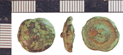 NLM-735765: Post-Medieval Button