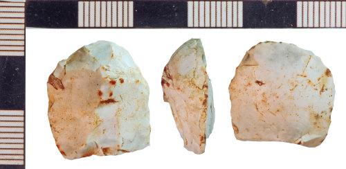 NLM-D69B2A: Bronze Age Scraper