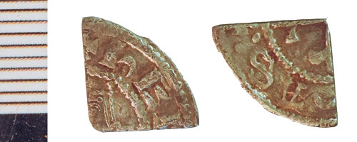 NLM-7B2DBE: Medieval Coin: Farthing of Henry I