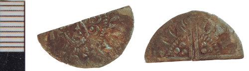 NLM-BAEBED: Medieval Coin: Halfpenny of Henry III