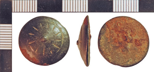 NLM-6F7D9F: Post-Medieval Button