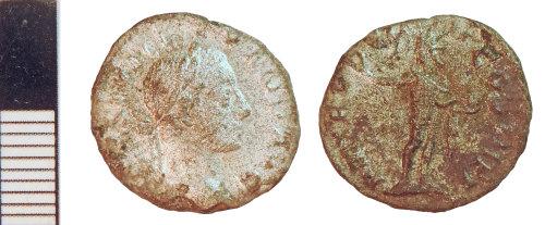 NLM-2A4C3C: Roman Coin: Denarius of Severus Alexander