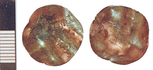 NLM-4EAD61: Post-Medieval Coin of an indeterminate issuer