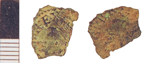 NLM-1AA71B: Post-Medieval Coin: Indeterminate issue of Charles I