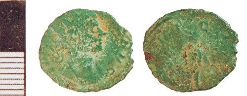NLM-B109AA: Roman Coin: Radiate of Claudius II