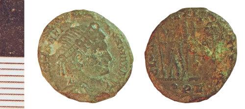 NLM-B1189C: Roman Coin: Nummus of Constantine I