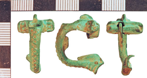 NLM-B66285: Roman Headstud Brooch