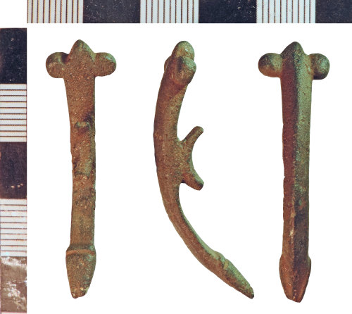 NLM-B66F77: Roman Phallic Pendant