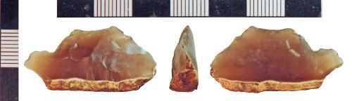 NLM-474E68: Mesolithic Backed Blade