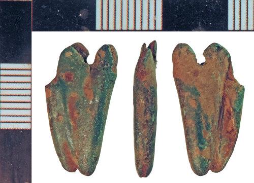 NLM-AE7465: Medieval Scabbard Chape