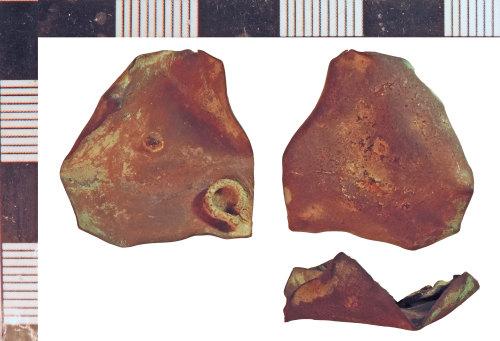 NLM-C6D3E6: Post-Medieval Balance fragment