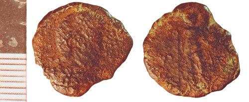 NLM-4DABE3: Roman Coin: Nummus of Gratian