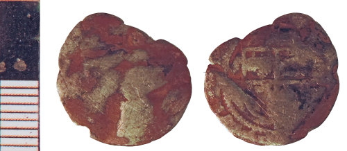 NLM-C0A603: Post-Medieval Coin: Halfgroat of an indeterminate ruler