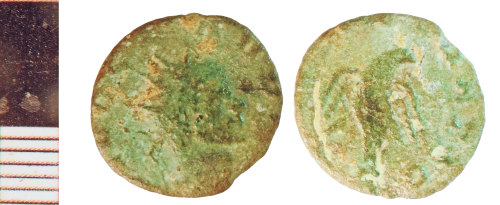 NLM-D9AF82: Roman Coin: Radiate of Claudius II