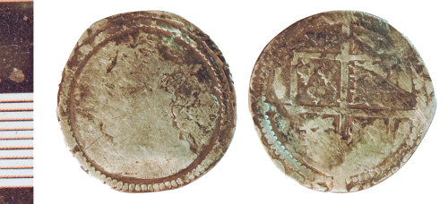 NLM-4148AE: Post-Medieval Coin: Sixpence of Elizabeth I