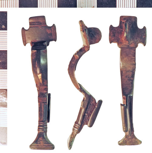 NLM-694867: Early Medieval Small Long Brooch