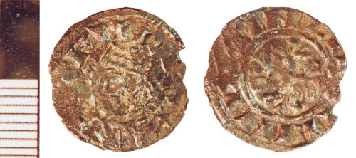 NLM-7A199B: Medieval Coin: Penny of Henry I