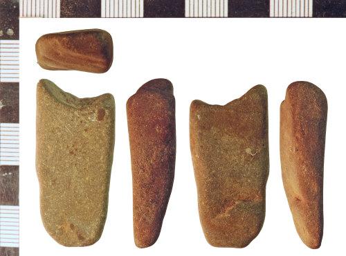 NLM-804A3E: Undated possible Whetstone fragment