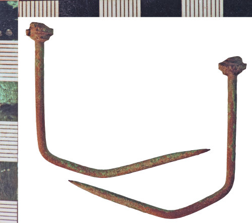 NLM-FE8DA4: Medieval Pin