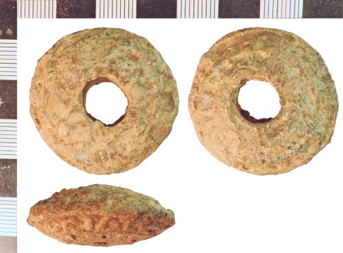 NLM-943014: Post-Medieval Spindle Whorl