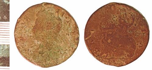 NLM-483056: Post-Medieval Coin: Halfpenny of George II