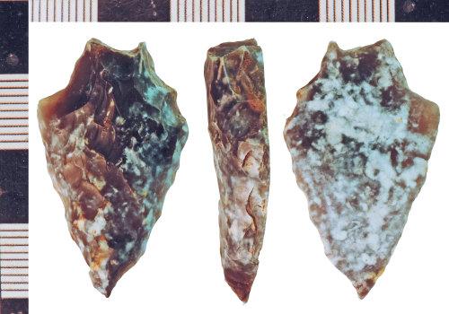 NLM-087B53: Bronze Age Plano Convex Knife