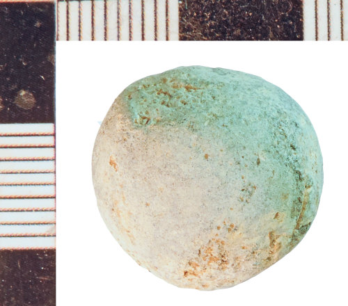 NLM-42434C: Post-Medieval Musket Ball