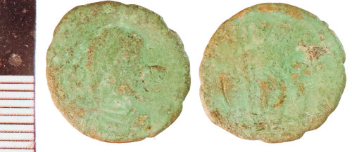 NLM-808854: Roman Coin: Nummus of Gratian