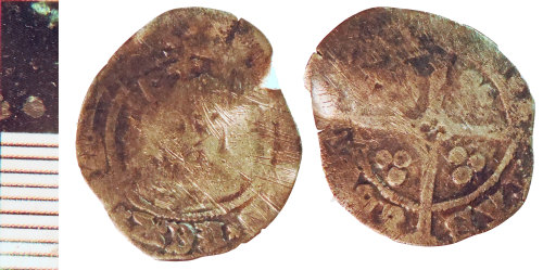 NLM-BFCA64: Medieval Coin: Penny of Richard II