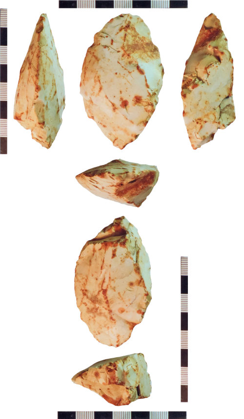 NLM-D69A09: Possibly Neolithic Edge Ground Axe fragment
