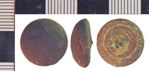 NLM-D72FF8: Post-Medieval Button