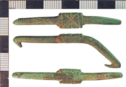 NLM-62664E: Post-Medieval Hooked Clasp or Havette