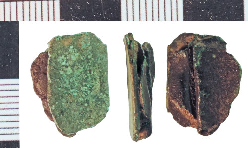 A resized image of Post-Medieval Vessel Repair Clip