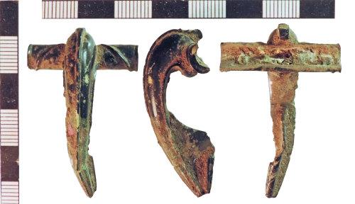 NLM-867FF2: Roman Colchester Derivative Brooch