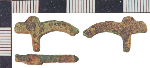 NLM-B11925: Post-Medieval Buckle fragment