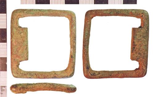 NLM-C309B3: Post-Medieval Buckle