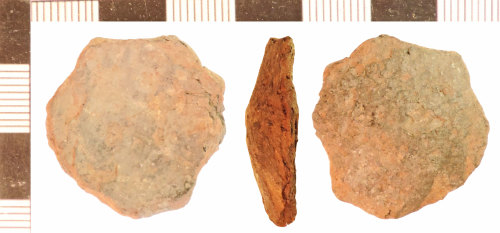 NLM-C31479: Post-Medieval Spoon fragment