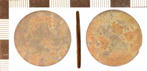 NLM-C35398: Post-Medieval Disc