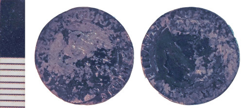 NLM-5A3D6E: Post-Medieval Coin: Scots Twenty Pence of Charles I