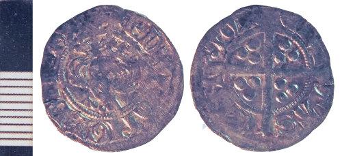 NLM-5A4BD2: Medieval Coin: Penny of Edward I