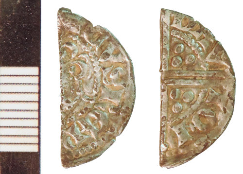 NLM-6102E8: Medieval Coin: Halfpenny of Henry III