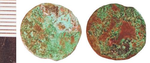 NLM-998242: Roman Coin: Radiate indeterminate