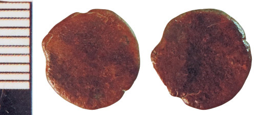NLM-D693E8: Roman Coin: Radiate or Nummus indeterminate