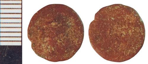 NLM-D6C302: Roman Coin: Nummus indeterminate