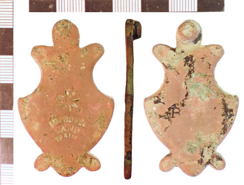 NLM-D6D1F8: Post-Medieval Door Escutcheon