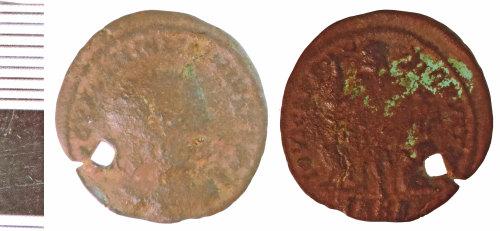 NLM-D70076: Roman Coin: Nummus of Constantine I