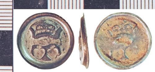 NLM-6A2CAE: Post-Medieval Cuff Link fragment