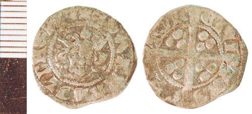 NLM-7F6C18: Medieval Coin: Penny of Edward II